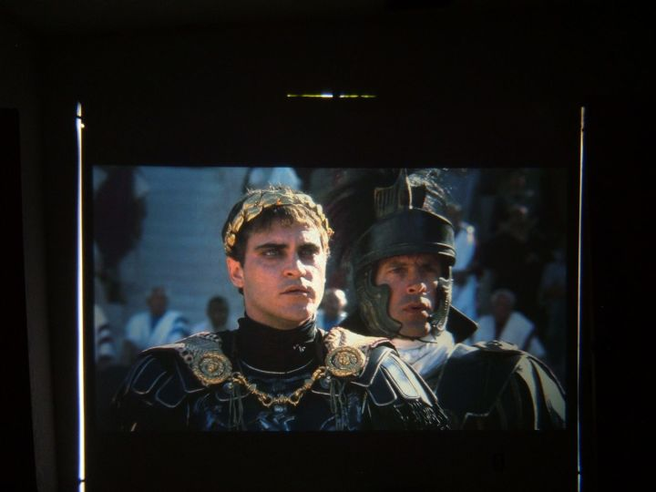 First light with Gladiator movie